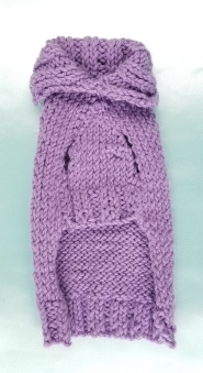 $35.00 Purple Pet Sweater